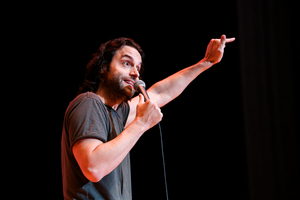 Chris D'Elia performed to a sold-out audience Saturday night.