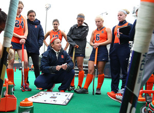 Ange Bradley took over Syracuse's field hockey program in 2007 and immediately elevated the program. Ten years later, SU is among the top teams in the country.