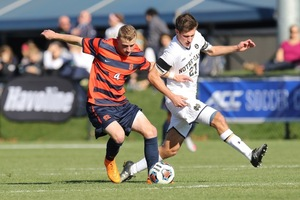 Liam Callahan and Syracuse are trying to make another deep run in the NCAA tournament. Its first matchup comes against Dartmouth at SU Soccer Stadium on Sunday.