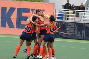 No. 3 seed Syracuse starts its title defense with a matchup against Harvard on Saturday. SU lost to Wake Forest in the first round of the ACC tournament.