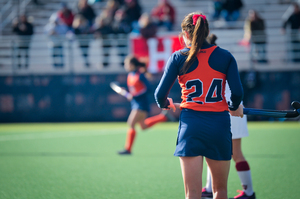 Senior Liz Sack had a big day for Syracuse.