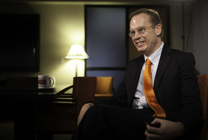 Recently, Syracuse University Chancellor Kent Syverud's job has become more fundraising-focused.