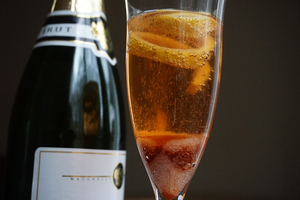 Twenty-five percent of champagne bottles sold in the U.S. are purchased during the week between Christmas and New Year's.