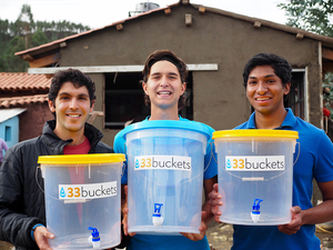 Five ASU students — Pankti Shah, Paul Strong, Varendra Silva, Mark Huerta and Connor Wiegand — have joined the project, 33 Buckets, in the hopes addressing water crises around the globe.