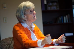 Michele Wheatly was appointed as Syracuse University's vice chancellor and provost in early March 2016.