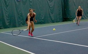 Tritou, like Syracuse, has struggled through the first third of the season. The sophomore is 1-7 in her singles matches.