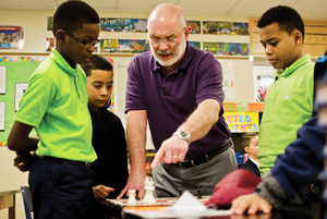 Anton Ninno first used chess to make a middle ages history lesson more relatable for students. Now he runs the chess club at Southside Academy Charter School and is the president of the Syracuse Chess nonprofit he founded.