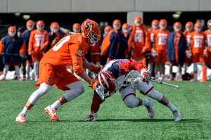 Syracuse avoided an upset Saturday at St. John's, one week before SU travels to Baltimore for a date with No. 14 Johns Hopkins.