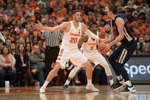Tyler Lydon contributes to SU on defense and on the boards, but some fans wish he'd do more on offense as well.